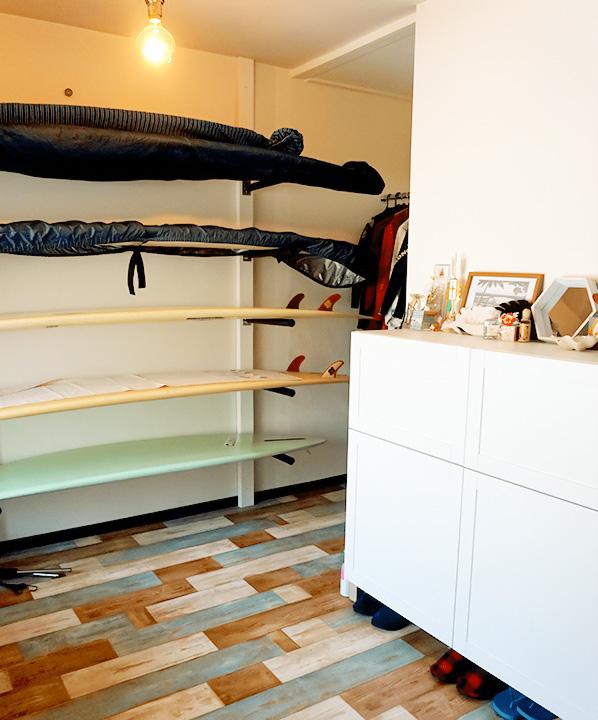 これがマンションの一室!? サーファー向けリフォームのひとつのカタチ