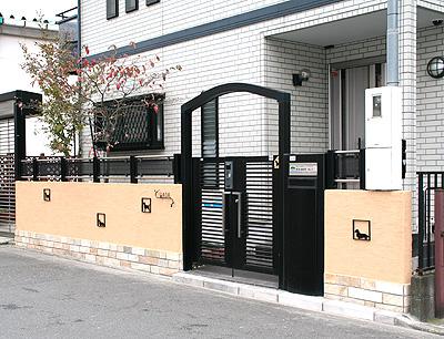 レンガ・ブロック塀・フェンスの一部取り替え