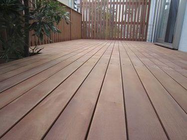 その1. 30年くさらない木材で簡単メンテナンス