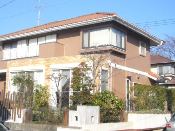 外国の家のようにしたい、ペイントカラーでイメージチェンジできる外壁塗装工事 青葉区N様邸