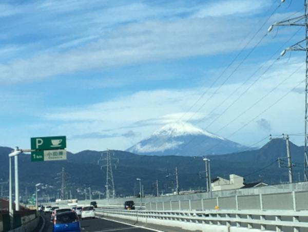 富士山の傘雲は雨の予兆